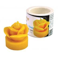 Forma silikonowa - Tealight róża