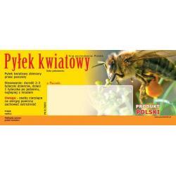 Paczka etykiet na pyłek kwiatowy (50szt) - wzór EP1