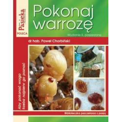"""Książka """"Pokonaj warrozę"""" wydanie II poszerzone (Paweł Chorbiński)"""