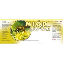 Paczka dużych etykiet na miód lipowy (100szt) - wzór E101
