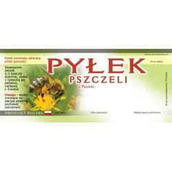 Paczka etykiet na pyłek kwiatowy (50szt) - wzór EP2