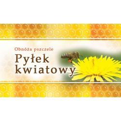 Paczka etykiet małych (pyłek kwiatowy) 100szt - wzór EM8