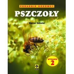 """książka """"pszczoły. poradnik hodowcy"""" (werner gekeler) k119"""