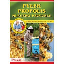 """Broszura """"Pyłek, propolis, mleczko pszczele"""""""