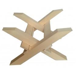 Stojak krzyżowy pod ul Wielkopolski, drewniany