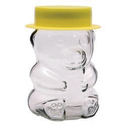 Słoiczek 280 ml Orsetto Niedźwiadek z nakrętką i kapeluszem