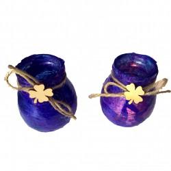 Świecznik Gnieciuch fioletowy
