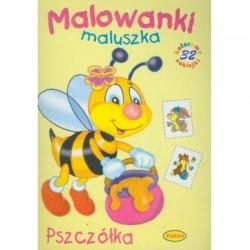 Malowanki maluszka - pszczółka