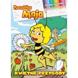 Pszczółka Maja. Dodaj kolorów! Kwietne przygody