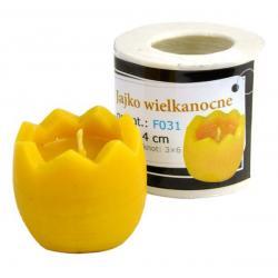 Forma silikonowa: Jajko wielkanocne (wys: 4 cm)